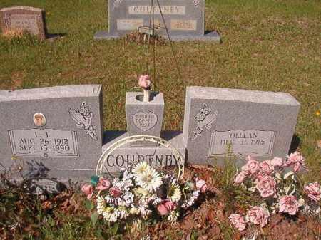 COURTNEY, OLLEAN - Columbia County, Arkansas | OLLEAN COURTNEY - Arkansas Gravestone Photos