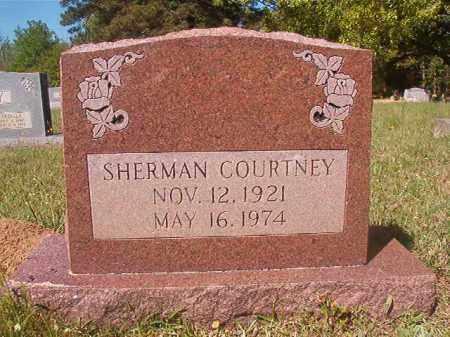 COURTNEY, SHERMAN - Columbia County, Arkansas | SHERMAN COURTNEY - Arkansas Gravestone Photos