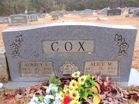 COX, AUBREY L - Columbia County, Arkansas | AUBREY L COX - Arkansas Gravestone Photos