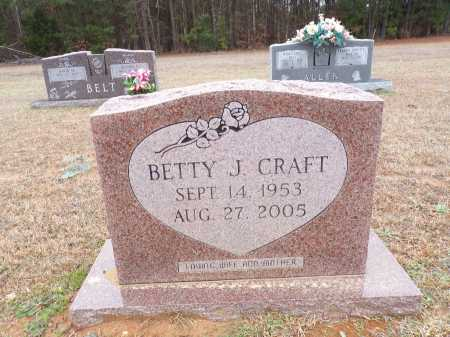 CRAFT, BETTY J - Columbia County, Arkansas   BETTY J CRAFT - Arkansas Gravestone Photos