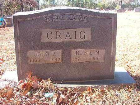 CRAIG, JOHN P - Columbia County, Arkansas | JOHN P CRAIG - Arkansas Gravestone Photos