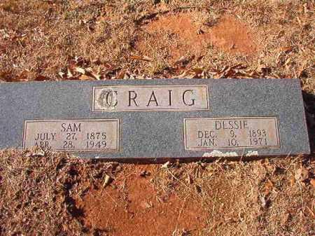 CRAIG, DESSIE - Columbia County, Arkansas | DESSIE CRAIG - Arkansas Gravestone Photos