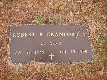 CRANFORD, SR (VETERAN), ROBERT R - Columbia County, Arkansas | ROBERT R CRANFORD, SR (VETERAN) - Arkansas Gravestone Photos