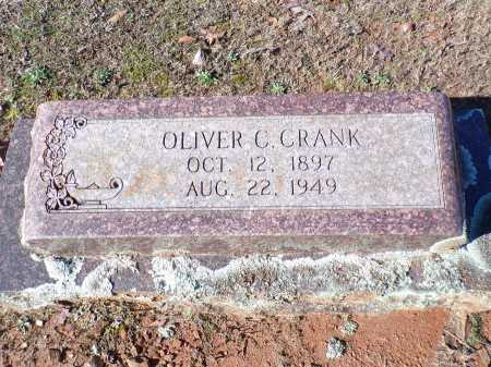 CRANK, OLIVER C - Columbia County, Arkansas   OLIVER C CRANK - Arkansas Gravestone Photos