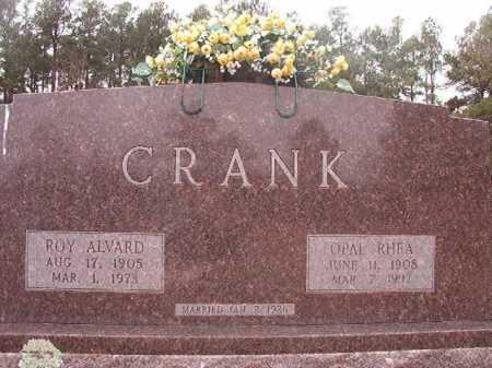 CRANK, OPAL RHEA - Columbia County, Arkansas | OPAL RHEA CRANK - Arkansas Gravestone Photos