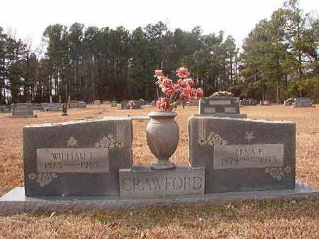 CRAWFORD, RENA E - Columbia County, Arkansas | RENA E CRAWFORD - Arkansas Gravestone Photos