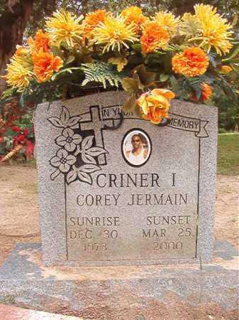 CRINER, I, COREY JERMAIN - Columbia County, Arkansas   COREY JERMAIN CRINER, I - Arkansas Gravestone Photos