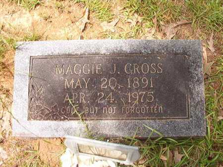 CROSS, MAGGIE J - Columbia County, Arkansas | MAGGIE J CROSS - Arkansas Gravestone Photos