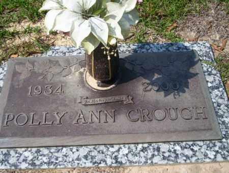 CROUCH, POLLY ANN - Columbia County, Arkansas | POLLY ANN CROUCH - Arkansas Gravestone Photos