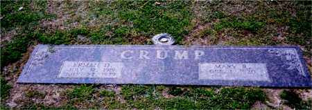 CRUMP, MARY - Columbia County, Arkansas | MARY CRUMP - Arkansas Gravestone Photos