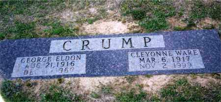 WARE CRUMP, CLEYONNE - Columbia County, Arkansas | CLEYONNE WARE CRUMP - Arkansas Gravestone Photos