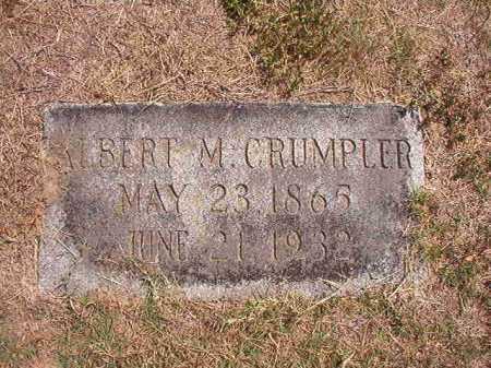 CRUMPLER, ALBERT M - Columbia County, Arkansas | ALBERT M CRUMPLER - Arkansas Gravestone Photos