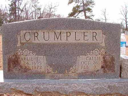 CRUMPLER, CALLIE L - Columbia County, Arkansas | CALLIE L CRUMPLER - Arkansas Gravestone Photos