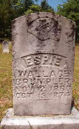 CRUMPLER, ESPIE WALLACE - Columbia County, Arkansas   ESPIE WALLACE CRUMPLER - Arkansas Gravestone Photos