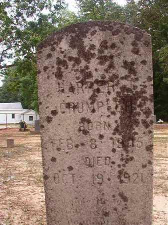 CRUMPLER, HARPER T - Columbia County, Arkansas | HARPER T CRUMPLER - Arkansas Gravestone Photos
