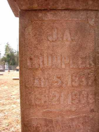 CRUMPLER, J A - Columbia County, Arkansas   J A CRUMPLER - Arkansas Gravestone Photos