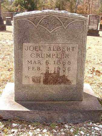 CRUMPLER, JOEL ALBERT - Columbia County, Arkansas | JOEL ALBERT CRUMPLER - Arkansas Gravestone Photos
