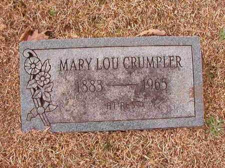CRUMPLER, MARY LOU - Columbia County, Arkansas | MARY LOU CRUMPLER - Arkansas Gravestone Photos
