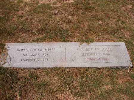 COX CRUMPLER, NEWELL - Columbia County, Arkansas | NEWELL COX CRUMPLER - Arkansas Gravestone Photos