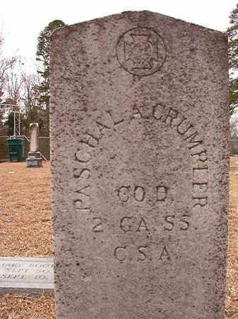CRUMPLER (VETERAN CSA), PASCHAL A - Columbia County, Arkansas | PASCHAL A CRUMPLER (VETERAN CSA) - Arkansas Gravestone Photos