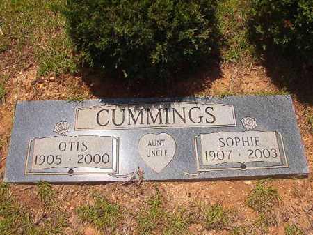 CUMMINGS, OTIS - Columbia County, Arkansas   OTIS CUMMINGS - Arkansas Gravestone Photos