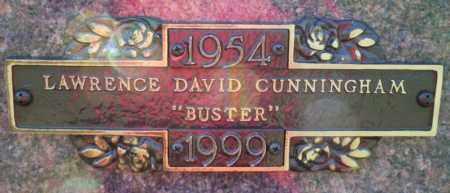 CUNNINGHAM, LAWRENCE DAVID - Columbia County, Arkansas   LAWRENCE DAVID CUNNINGHAM - Arkansas Gravestone Photos