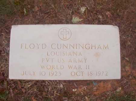 CUNNINGHAM (VETERAN WWII), FLOYD - Columbia County, Arkansas | FLOYD CUNNINGHAM (VETERAN WWII) - Arkansas Gravestone Photos