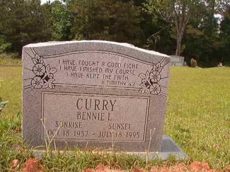 CURRY, BENNIE L - Columbia County, Arkansas | BENNIE L CURRY - Arkansas Gravestone Photos