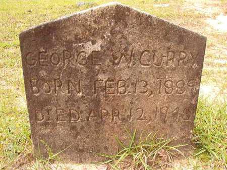 CURRY, GEORGE W - Columbia County, Arkansas | GEORGE W CURRY - Arkansas Gravestone Photos