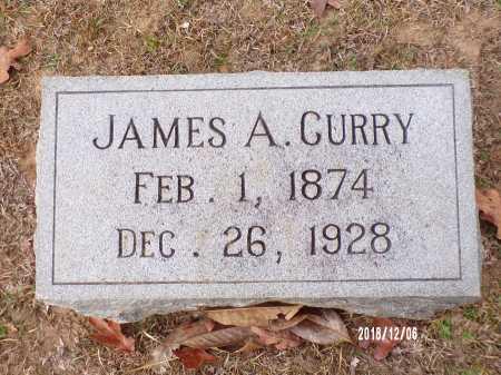 CURRY, JAMES A - Columbia County, Arkansas | JAMES A CURRY - Arkansas Gravestone Photos