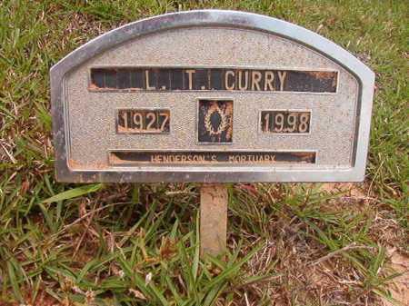 CURRY, L T - Columbia County, Arkansas | L T CURRY - Arkansas Gravestone Photos