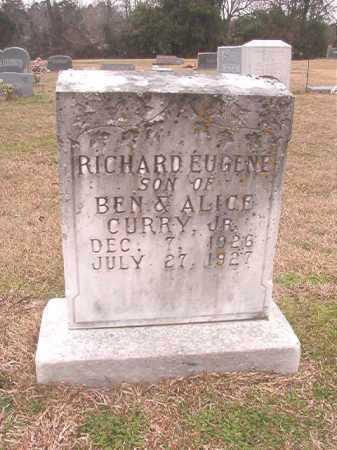 CURRY, RICHARD EUGENE - Columbia County, Arkansas | RICHARD EUGENE CURRY - Arkansas Gravestone Photos