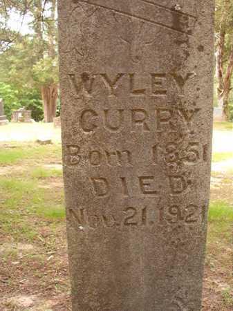 CURRY, WYLEY - Columbia County, Arkansas | WYLEY CURRY - Arkansas Gravestone Photos