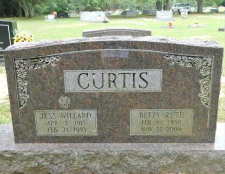 CURTIS, JESS WILLARD - Columbia County, Arkansas   JESS WILLARD CURTIS - Arkansas Gravestone Photos