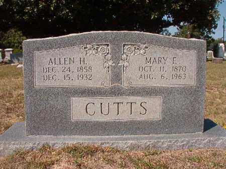 CUTTS, ALLEN H - Columbia County, Arkansas | ALLEN H CUTTS - Arkansas Gravestone Photos