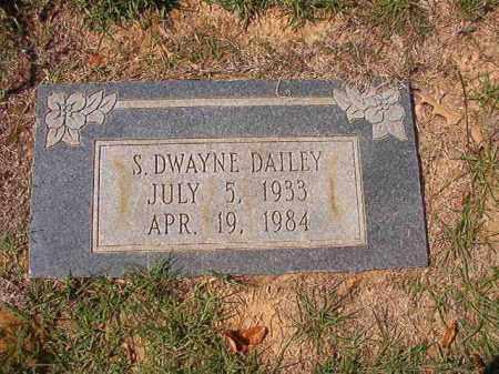 DAILEY, S DWAYNE - Columbia County, Arkansas   S DWAYNE DAILEY - Arkansas Gravestone Photos