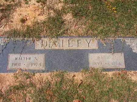 DAILEY, JENNY J - Columbia County, Arkansas | JENNY J DAILEY - Arkansas Gravestone Photos