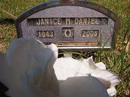 DANIEL, JANICE M - Columbia County, Arkansas   JANICE M DANIEL - Arkansas Gravestone Photos