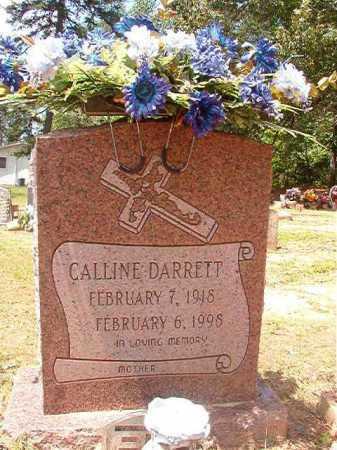 DARRETT, CALLINE - Columbia County, Arkansas   CALLINE DARRETT - Arkansas Gravestone Photos