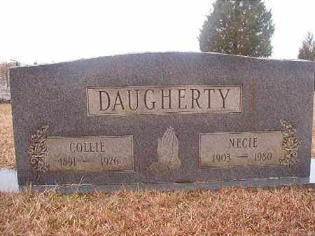 DAUGHERTY, NECIE - Columbia County, Arkansas | NECIE DAUGHERTY - Arkansas Gravestone Photos