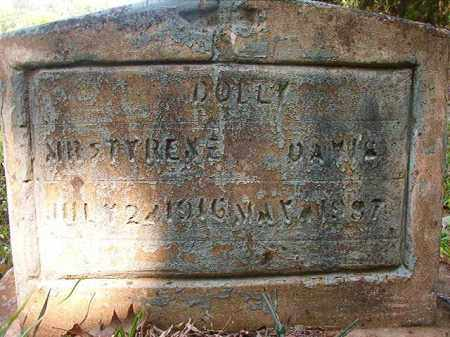 DAVIS, DOLLY - Columbia County, Arkansas   DOLLY DAVIS - Arkansas Gravestone Photos