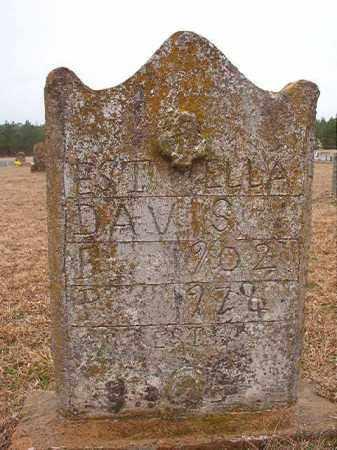 DAVIS, ESTELLA - Columbia County, Arkansas | ESTELLA DAVIS - Arkansas Gravestone Photos