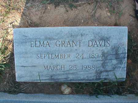 DAVIS, ELMA - Columbia County, Arkansas | ELMA DAVIS - Arkansas Gravestone Photos