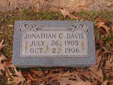 DAVIS, JONATHAN C - Columbia County, Arkansas | JONATHAN C DAVIS - Arkansas Gravestone Photos