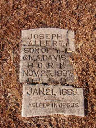 DAVIS, JOSEPH ALBERT - Columbia County, Arkansas | JOSEPH ALBERT DAVIS - Arkansas Gravestone Photos