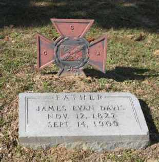 DAVIS, JAMES EVAN - Columbia County, Arkansas   JAMES EVAN DAVIS - Arkansas Gravestone Photos