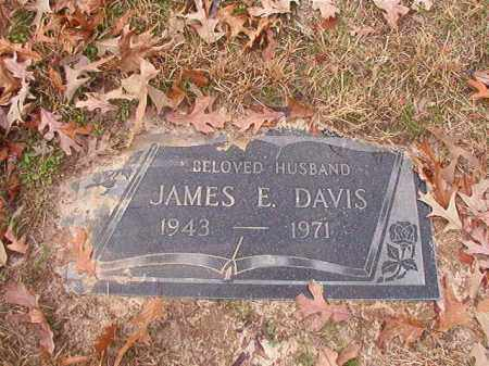 DAVIS, JAMES E - Columbia County, Arkansas | JAMES E DAVIS - Arkansas Gravestone Photos
