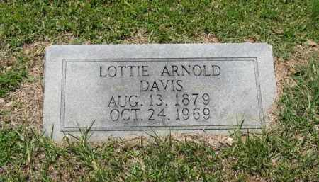 DAVIS, LOTTIE - Columbia County, Arkansas | LOTTIE DAVIS - Arkansas Gravestone Photos
