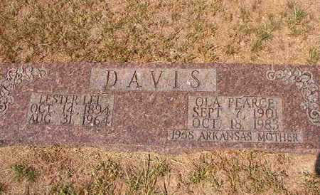 PEARCE DAVIS, OLA - Columbia County, Arkansas | OLA PEARCE DAVIS - Arkansas Gravestone Photos
