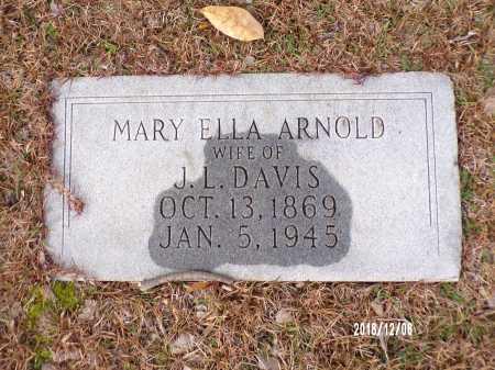 DAVIS, MARY ELLA - Columbia County, Arkansas | MARY ELLA DAVIS - Arkansas Gravestone Photos